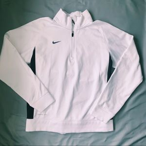 White Nike Pullover